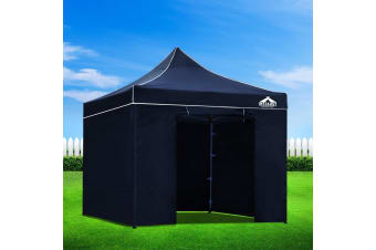 Pop Up Gazebo 3x3m Outdoor Gazebos Wedding Marquee Tent Navy