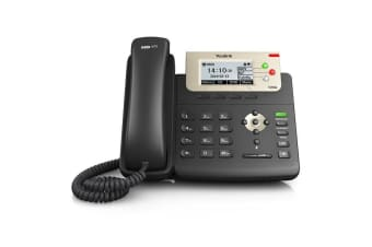 Yealink SIP-T23G Enterprise HD IP Phone Dual-port Gigabit Ethernet PoE support Up to 3 SIP accounts