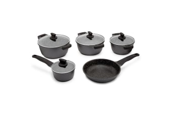 Westinghouse 5 Piece Non-Stick Pot and Pan Set