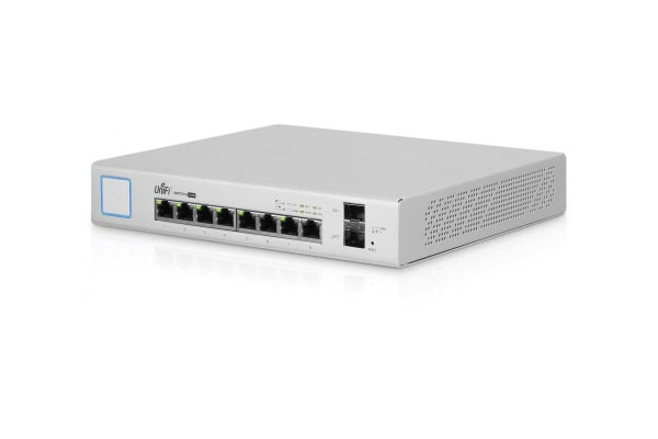 Ubiquiti UniFi 150W 8 Port Managed PoE+ Gigabit Switch (US-8-150W)