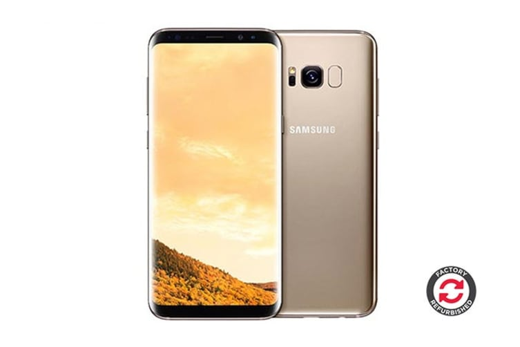 Samsung Galaxy S8+ Refurbished (64GB, Maple Gold) - A+ Grade