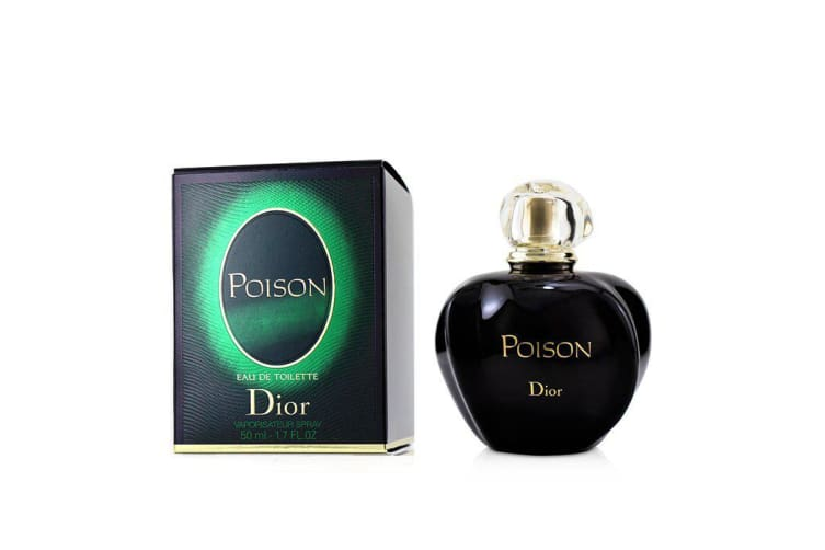 Christian Dior Poison Eau De Toilette Spray 50ml