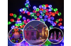 250 LED Solar Powered String Christmas Party Indoor Outdoor Lights - White/RGB - RGB