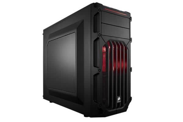 Corsair SPEC-03 Mid-Tower ATX Case with Red LED 7x PCI Slots. Supports Mini-ITX, mATX, ATX