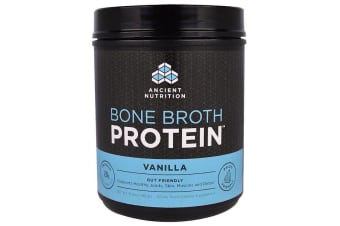 Dr. Axe / Ancient Nutrition Bone Broth Protein - Vanilla 460g