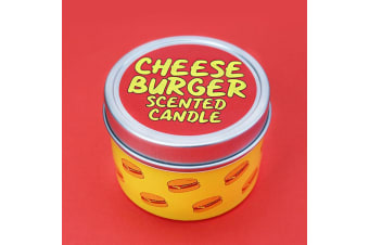 Cheeseburger Scented Candle |  Funny Novelty Gift
