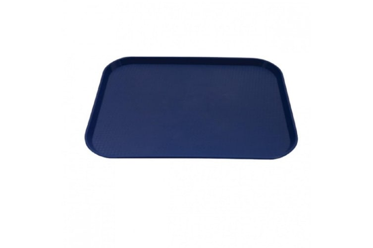 Caterrax Plastic Food Serving Tray 45 X 35cm - Blue