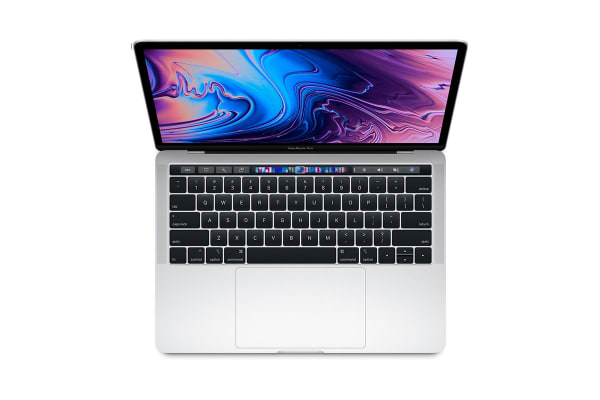 "Apple 13"" MacBook Pro with Touch Bar (2.3Ghz i5, 8GB RAM, 512GB SSD, Silver) - MR9V2"