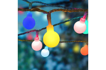 100 LED Ball Bulb String Lights Fairy Party Christmas Wedding Party In/Outdoor