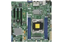 Supermicro Single Socket E5-2600/1600 v4/v3, 4x DDR4 RECC, 1x PCIe x16, M.2, 2x i210 GbE, m-ATX