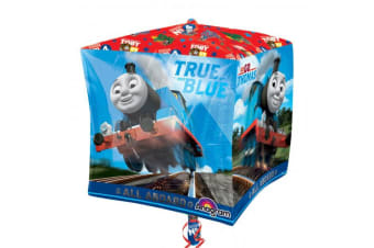 Anagram Supershape Cubez Thomas & Friends Balloon (Blue Multi) (38 x 38cm)