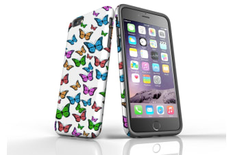 For iPhone 6S Plus & 6 Plus Case  Protective Back Cover  Butterflies
