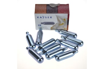 Kayser Cream Chargers - Pack Of 10