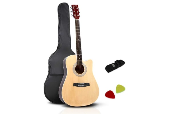 41 SteelStringed Acoustic Guitar (Natural)