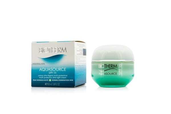 Biotherm Aquasource Multi-Protective Ultra-Light Cream SPF 15 - For Normal/Combination Skin (50ml/1.69oz)