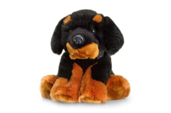 Keel Kids 35cm Cuddles Tibetan Mastiff Black Children Plush Soft Stuffed Dog Toy
