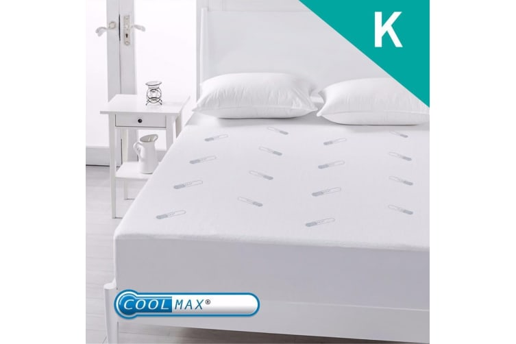 King Size Coolmax Mattress Protector