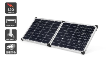 Komodo 120W Folding Solar Panel Kit