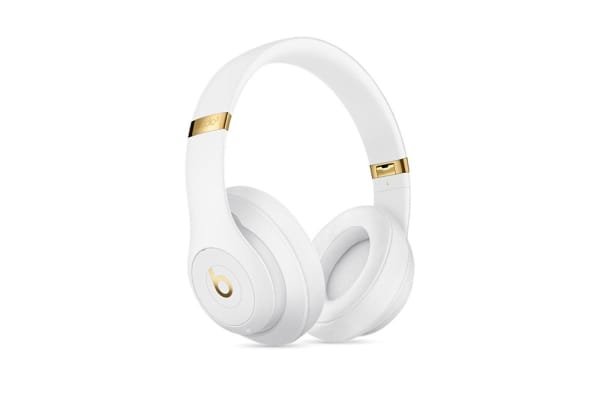 Beats Studio3 Wireless Over-Ear Headphones (White)