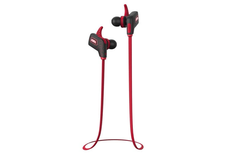 BlueAnt Pump LITE2 In-Ear Sports Earphones - Red