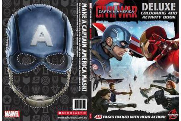 Marvel Captain America - Civil War Deluxe Colouring and Activity Book
