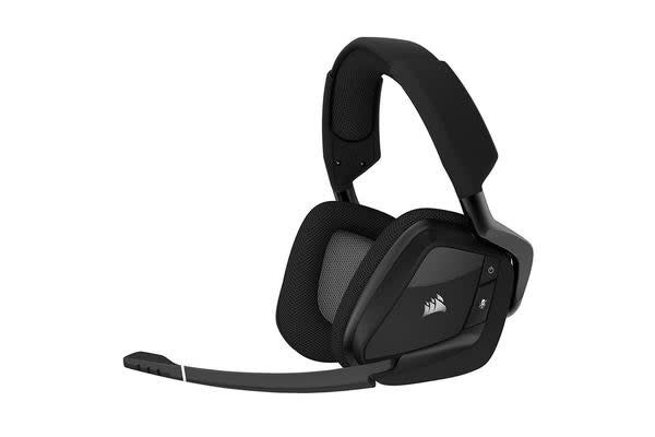 Corsair Void Pro RGB Wireless Dolby 7.1 Surround Sound Gaming Headset For PC - BLACK