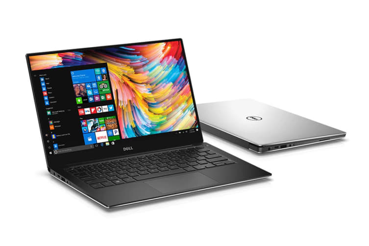 "Dell XPS 13 9360 13.3"" QHD+ Touch Screen Laptop (i7-8550, 8GB RAM, 256GB, Silver) - Certified Refurbished"