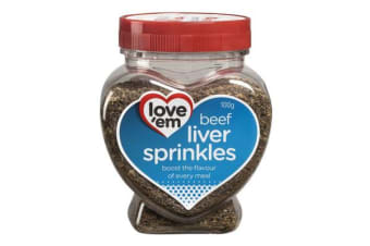 Love'em Beef Liver Treats Sprinkles