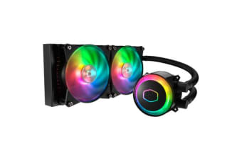 Cooler Master MasterLiquid ML240R All in One Watercooling with 2 X Addressable RGB 120MM  fan -