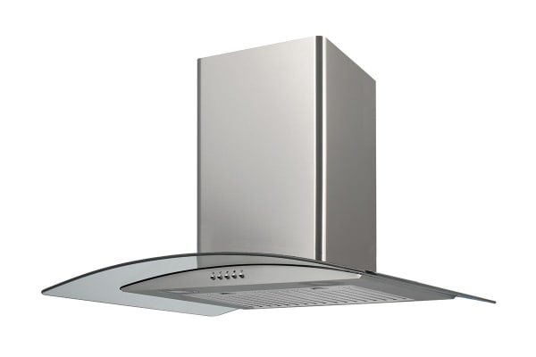 Residentia 90cm Curved Glass Canopy Rangehood (RH92G)