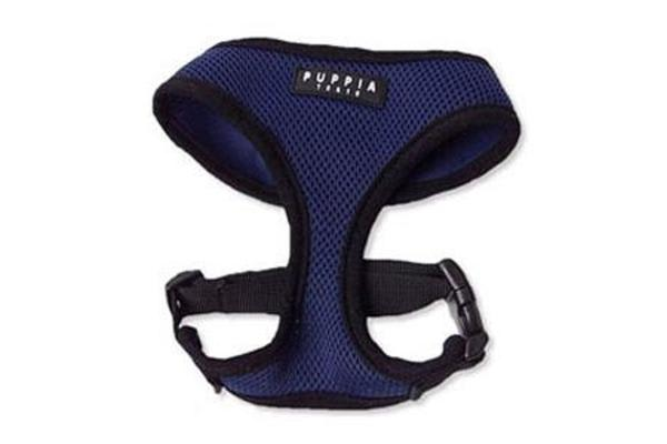 Puppia Soft Mesh Dog Harness Royal Blue - M
