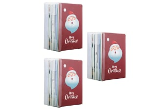 3x 60PK Merry Christmas Greeting Cards w/ Envelopes Holiday Xmas Set Assorted