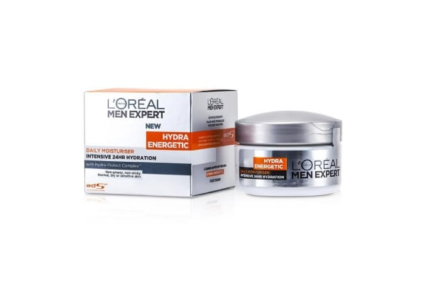 L'Oreal Men Expert Hydra Energetic Intensive 24HR Hydration (For Dry / Sensitive Skin) (Jar) (50ml/1.7oz)