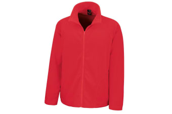 Result Core Mens Micron Anti Pill Fleece Jacket (Red) (S)