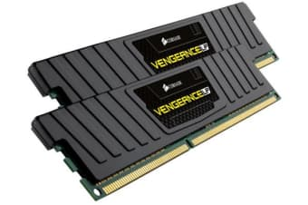 Corsair Vengeance LPX 16GB (2x8GB) DDR4 3200MHz C16 Desktop Gaming Memory Black AMD RYZEN