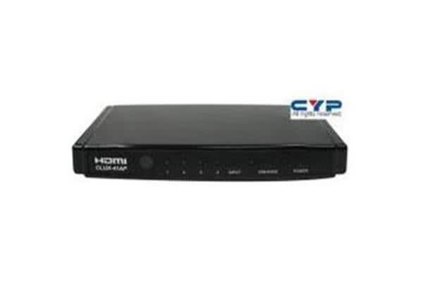 CYP HDMI 4 in 1 out Switch Standard Speed HDMI HDCP 1.1 and DVI 1.0 compliant. Includes remote