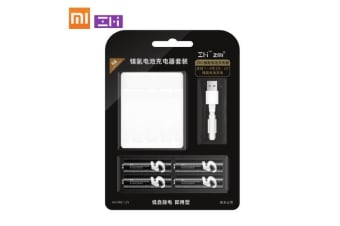 Xiaomi ZMI Ni-MH Battery Charger for AAA AA Z15 Z17 4 Slots Rechargeable Battery Box Intelligent Multifunctional Portable 1700mAh