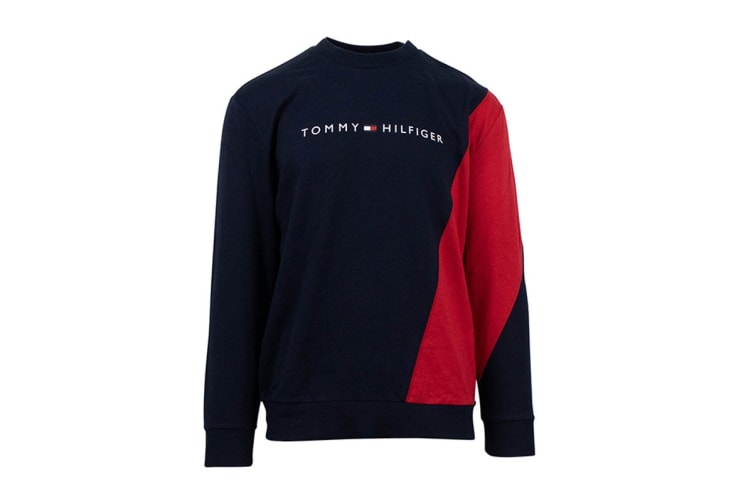 Tommy Hilfiger Men's Modern Essentials Pullover (Mahogany, Size M)