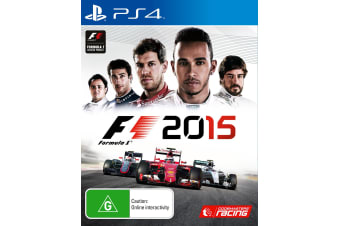 F1 2015 PS4 PlayStation 4 Game - Disc Like New