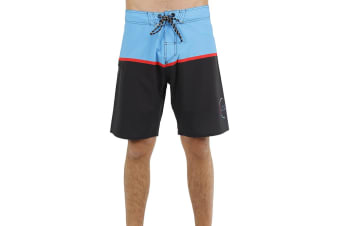 JetPilot C4 Mens Boardshort - Blue/Black - 28