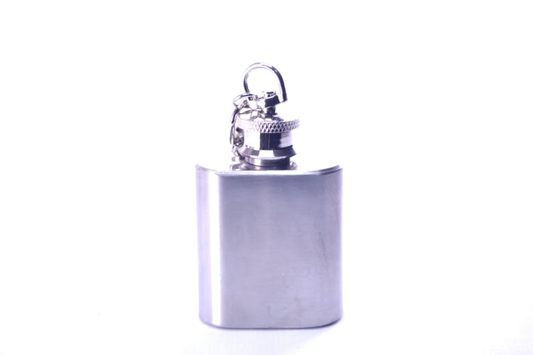 Hip Flask Gift Box Set In Stainless Steel