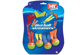 Dive Balls with Streamers
