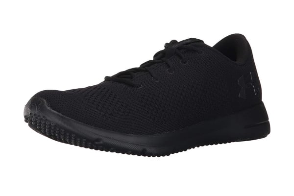 Under Armour Men's Rapid Sneaker (Black/Black, Size 9.5)