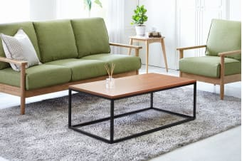 Shangri-La Coffee Table - Dobson Collection (Walnut)