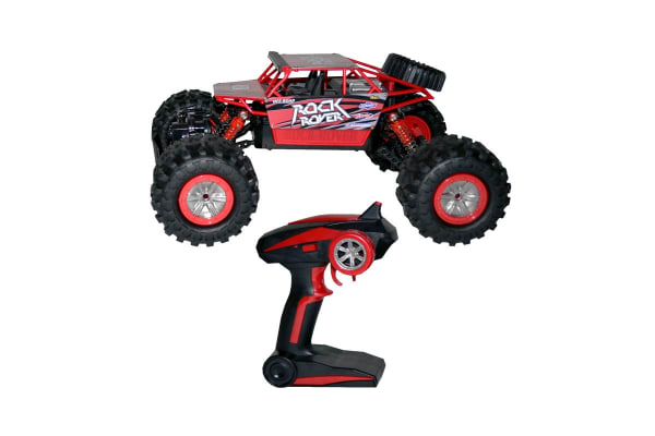 Remote Controlled Amphibious All-Terrain Vehicle - Red