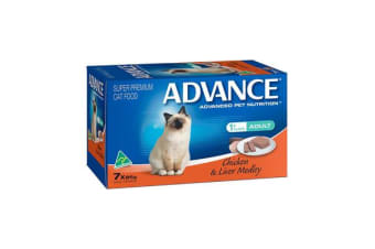 Advance Cat Chicken Liver Medley