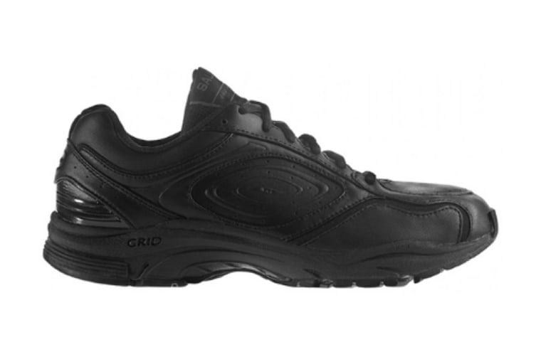 Saucony Women's Integrity ST Wide Shoe (Black/Silver/Silver, Size 5)