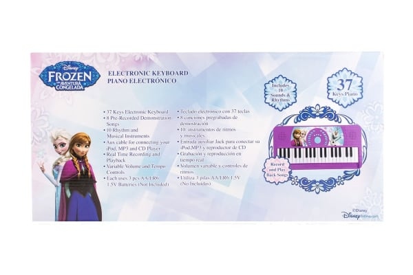 Frozen Electronic Keyboard