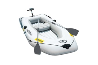 Aqua Marina Inflatable Boat Kayak Canoe Wildriver 2/3 Person Fishing Raft Paddle