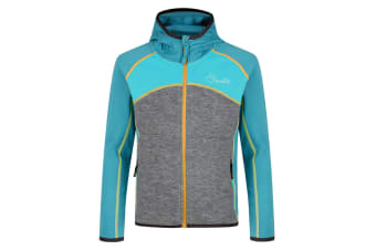 Dare 2B Childrens/Kids Unscramble Core Stretch Midlayer Jacket (Sea Breeze/Mid Grey) (5-6 Years)